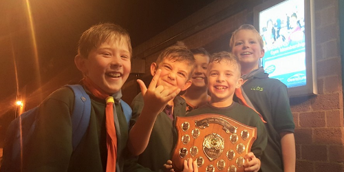 Cubs Winners At District Swimming Gala!